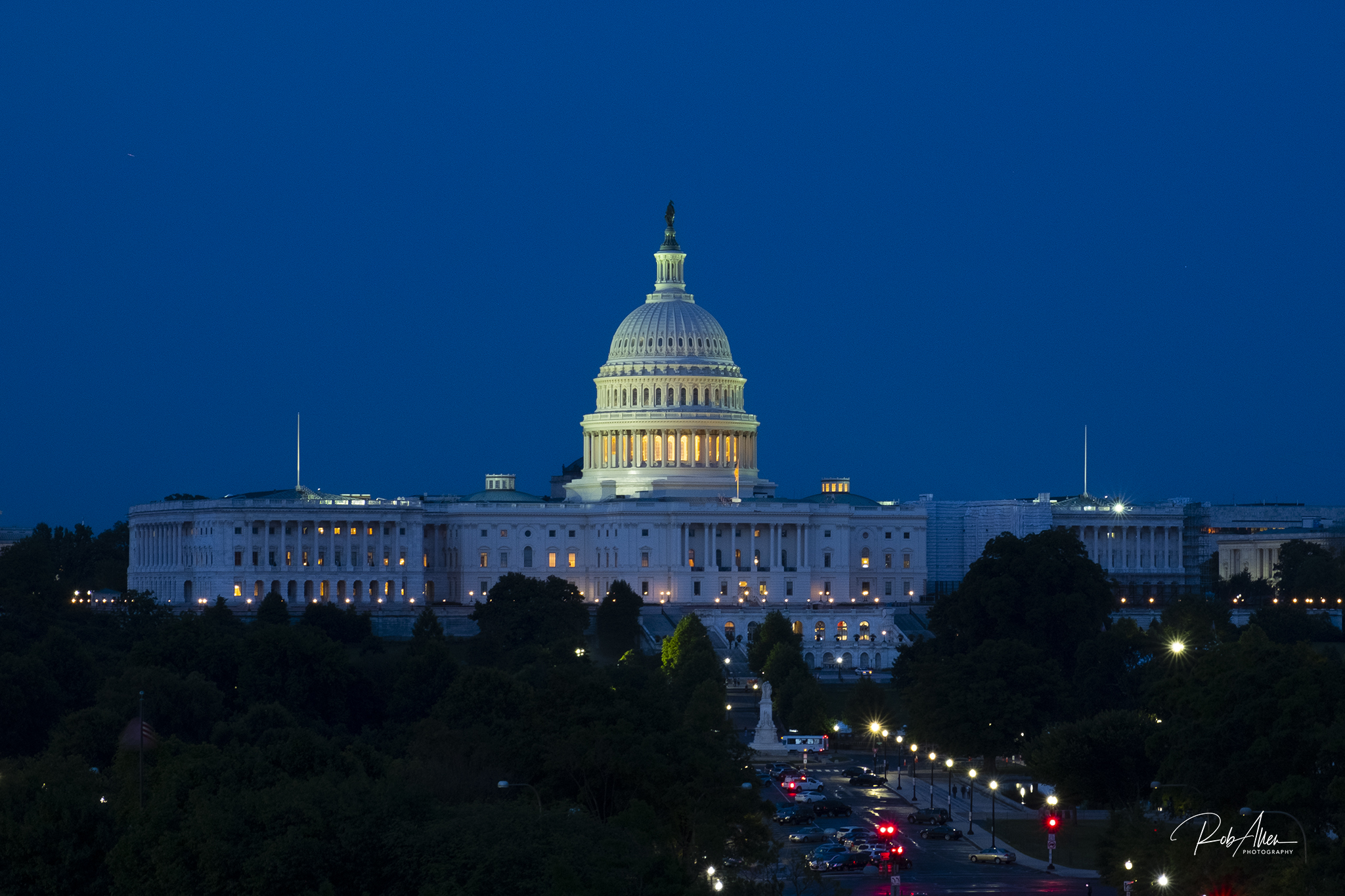 Capital Building during Blue Hour